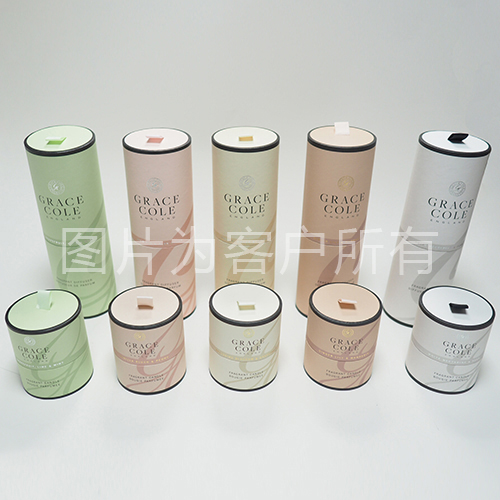 Lavender cylindrical cartridge