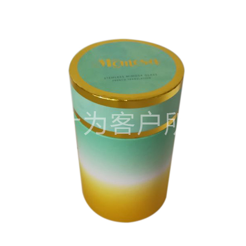 Wine glass cylinder box