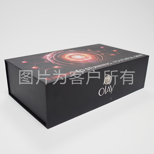 Manual folding box